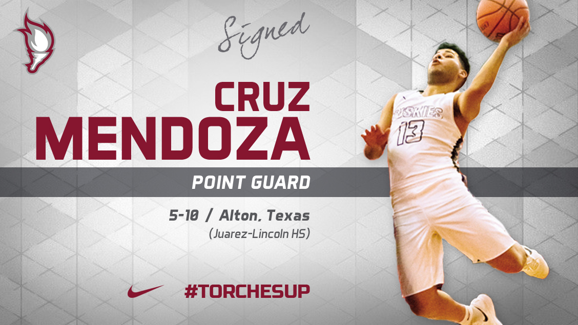 Cruz Mendoza of Alton, Texas, was announced on Friday as the second signee of the 2018 recruiting class by head coach Jack Defreitas.