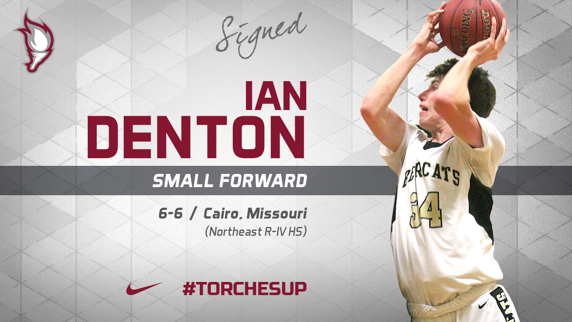 Ian Denton of Cairo, Mo., was announced on Thursdayas the fourth signee of the 2018 recruiting class by head coach Jack Defreitas.