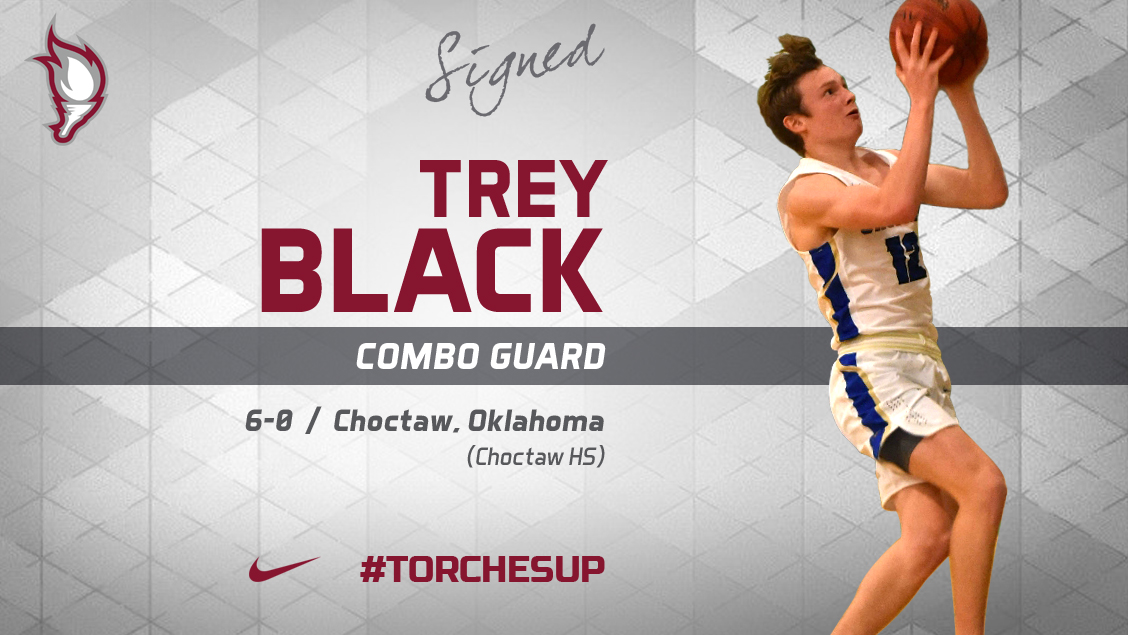 Trey Black of Choctaw, Okla., was announced on Wednesday as the third signee of the 2018 recruiting class by head coach Jack Defreitas.