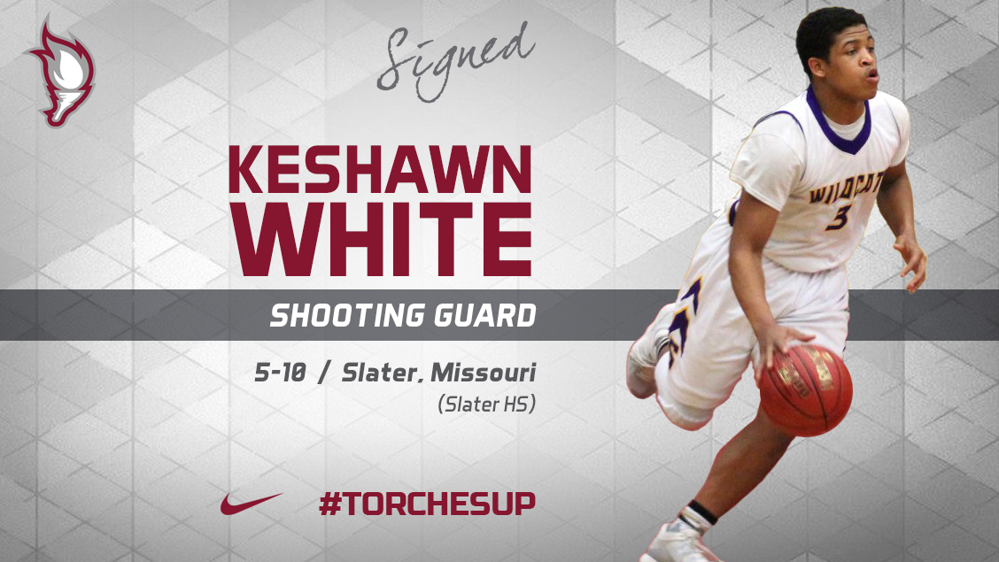 Keshawn White of Slater, Mo., was announced on Thursday as the fifth signee of the 2018 recruiting class by head coach Jack Defreitas.