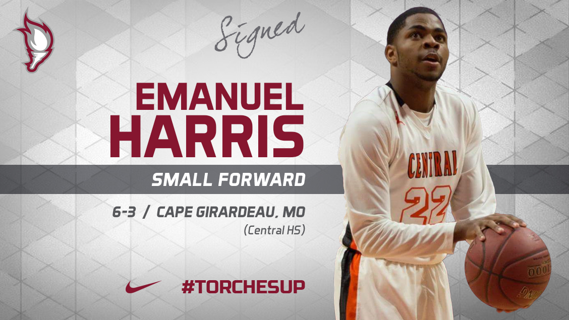 Emanuel Harris of Cape Girardeau, Mo., was announced on Friday as the ninth signee of the 2018 recruiting class by head coach Jack Defreitas.