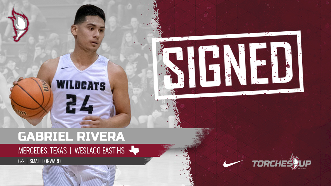 Gabriel Rivera of Mercedes, Texas, was announced on Monday as the first signee of the 2019 recruiting class by head coach Jack Defreitas.