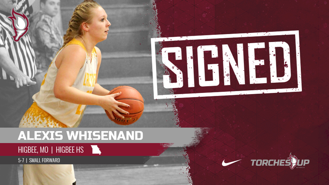 Alexis Whisenand of Higbee, Missouri, was announced on Tuesday as the second signee of the 2019 recruiting class by new head coach Meagan Henson.