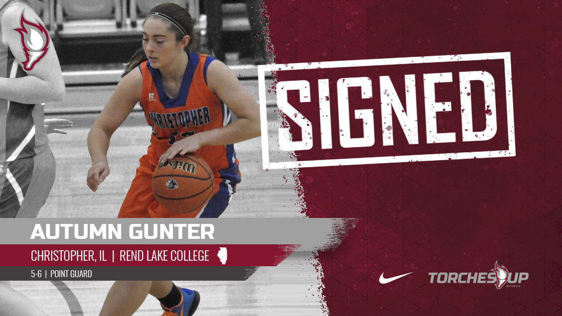 Autumn Gunter of Christopher, Ill., was announced on Tuesday as the seventh signee of the 2019 recruiting class by head coach Meagan Henson.