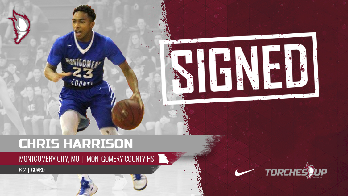 Chris Harrison of Montgomery City, Mo., was announced on Friday as the seventh signee of the 2019 recruiting class by head coach Jack Defreitas.