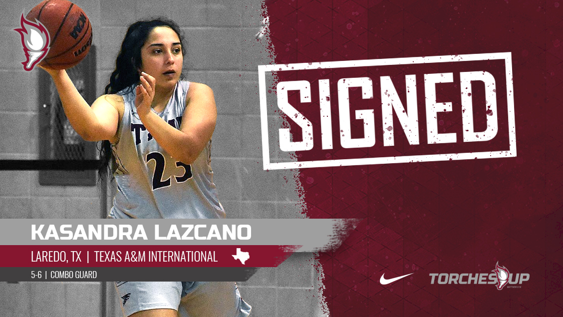 Kasandra Lazcano of Laredo, Texas, was announced on Tuesday as the fifth signee of the 2019 recruiting class by head coach Meagan Henson.