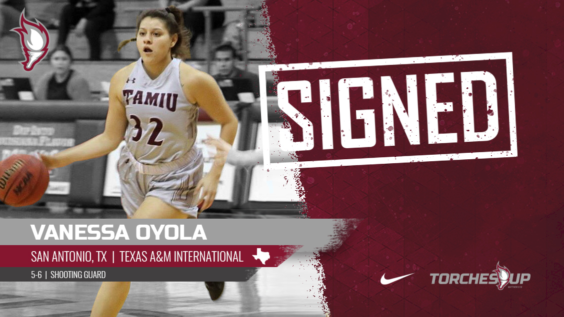 Vanessa Oyola of San Antonio, Texas, was announced on Wednesday as the sixth signee of the 2019 recruiting class by head coach Meagan Henson.